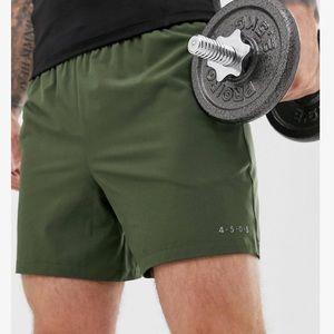 Asos mid length training shorts men's M